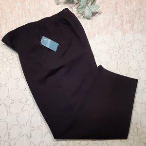 Koret Petites gingham pattern hi waist pants sz16P
